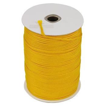TRENY 尼龍繩3mm黃色(660尺/捲)