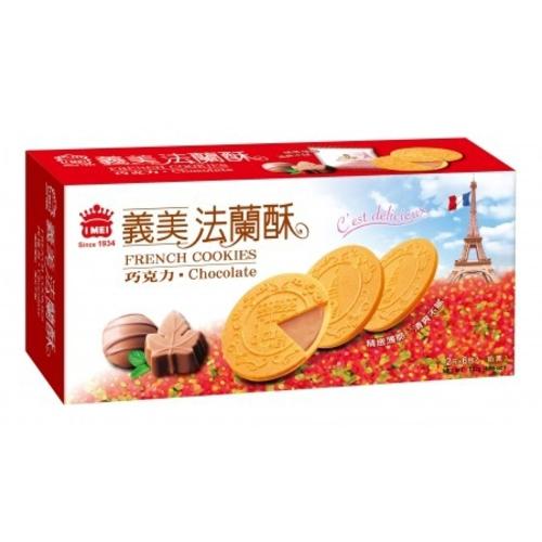 《義美》巧克力法蘭酥(132g/盒)