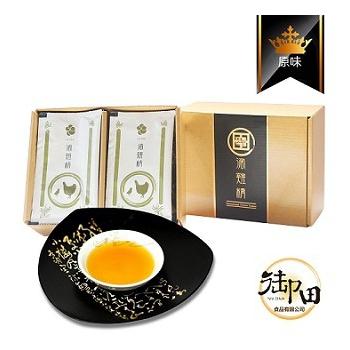 《御田》頂級黑羽土雞精品手作原味滴雞精(10入禮盒)