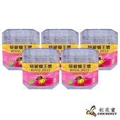 《彩花蜜》特級生鮮蜂王乳500g(5入組)單筆消費滿1388即贈送台灣荔枝蜂蜜350g一瓶