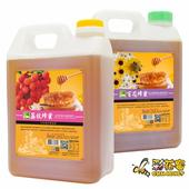 《彩花蜜》台灣嚴選蜂蜜3000g-任選2瓶-荔枝/百花蜂蜜(百花x2)
