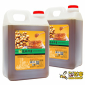 《彩花蜜》台灣嚴選-龍眼蜂蜜3000g(2入組)單筆消費滿1388即贈送台灣荔枝蜂蜜350g一瓶