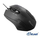 《KTNET》紋鵰 6D 電競藍光遊戲鼠USB