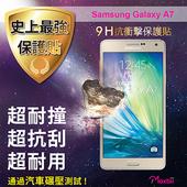《TWMSP》★史上最強保護貼★ Moxbii Samsung Galaxy A7 9H 抗衝擊 螢幕保護貼