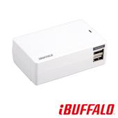 《BUFFALO》福利品 4.8A 大電流 USB 充電座(4port)(白)