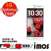 《TWMSP》★全世界第一款★iMOS 樂金 LG Optimus G Pro E988 3SAS 防潑水 防指紋 疏油疏水 螢幕保護貼