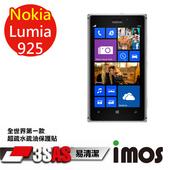 《TWMSP》★全世界第一款★iMOS 諾基亞 NOKIA Lumia 925 3SAS 防潑水 防指紋 疏油疏水 螢幕保護貼