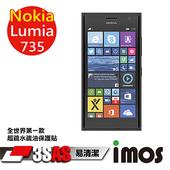 《TWMSP》★全世界第一款★iMOS 諾基亞 NOKIA Lumia 735 3SAS 防潑水 防指紋 疏油疏水 螢幕保護貼