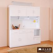 《日本直人木業》SUNNE簡單生活 160CM餐櫃組-免組
