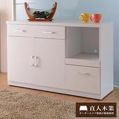 《日本直人木業》SUNNE簡單生活 120CM廚櫃-免組