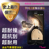 《TWMSP》★史上最強保護貼★ Moxbii ASUS Zenfone C 9H 抗衝擊 螢幕保護貼