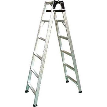 祥江 6尺直馬梯 6階鋁製直馬工作梯
