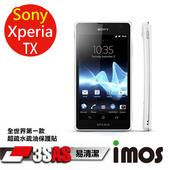 《TWMSP》★全世界第一款★iMOS 索尼 Sony Xperia Tx 3SAS 防潑水 防指紋 疏油疏水 螢幕保護貼
