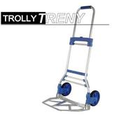《TRENY》台製 鋁製兩輪伸縮載物車-80kg-1676