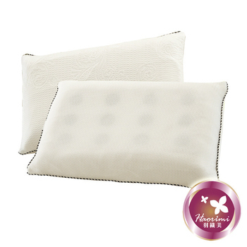 羽織美 台灣製造 天絲乳膠獨立筒枕(1入)