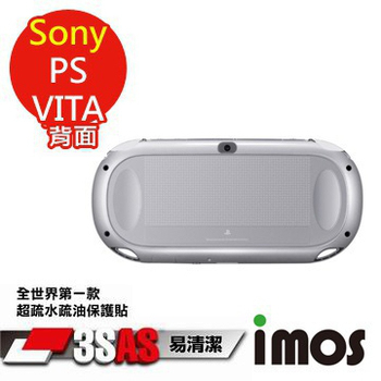 《TWMSP》★全世界第一款★iMOS 索尼 Sony PS VITA (附鏡頭) 3SAS 防潑水 防指紋 疏油疏水 背面保護貼