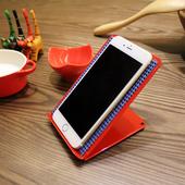 《頂堅》[鐵板製]固定式-手機架/平板電腦支架(三色可選)-1入/組(喜氣紅)