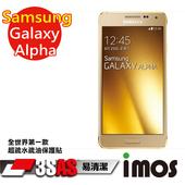 《TWMSP》★全世界第一款★iMOS 三星 Samsung Galaxy Alpha 3SAS 防潑水 防指紋 疏油疏水 螢幕保護貼