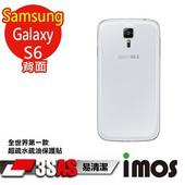 《TWMSP》★全世界第一款★iMOS 三星 Samsung Galaxy S6 3SAS 防潑水 防指紋 疏油疏水 背面保護貼
