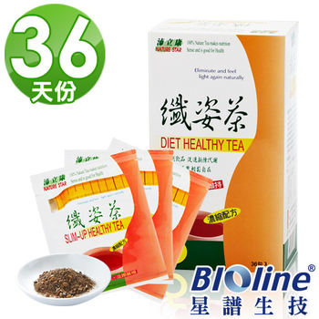 BIOline星譜生技 沛立康纖姿茶(36包/盒)