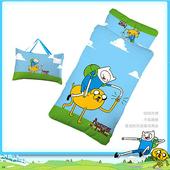 【探險活寶】阿寶與老皮幼教兒童睡袋-朋友篇(4*5尺)(藍)