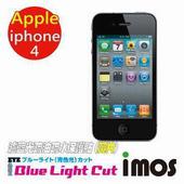 《TWMSP》iMOS Apple iPhone 4 / 4S (雙片組) 濾藍光Eye Ease 抗藍光 疏油疏水 螢幕保護貼 (黃片)