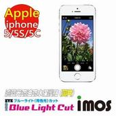 《TWMSP》iMOS Apple iPhone 5/5S/5C (雙片組) 濾藍光Eye Ease抗藍光 疏油疏水 螢幕保護貼 (黃片)