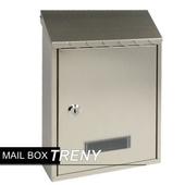 《TRENY》加厚不鏽鋼板-花編信箱(033HSS)