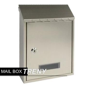 TRENY 加厚不鏽鋼板-花編信箱(033HSS)