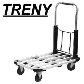 ★結帳現折★TRENY 伸縮鋁製載物車-荷重100kg