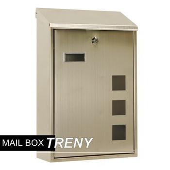 TRENY 不銹鋼信箱-040S-97657(直式)