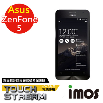 TWMSP iMOS 華碩 Asus Zenfone 5 Touch Stream 霧面 零反光 螢幕保護貼