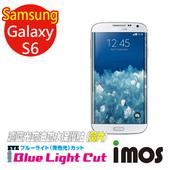 《TWMSP》iMOS 三星 Samsung Galaxy S6 (單片組) 濾藍光Eye Ease 抗藍光 疏油疏水 螢幕保護貼 (黃片)