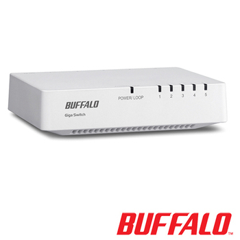 BUFFALO LSW4-GT-5EP-TW5 Port 交換器