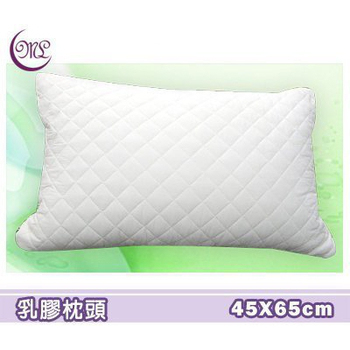 《名流寢飾家居館》最新型調整式3D立體.100%天然乳膠絨球枕(約65cm*45cm)