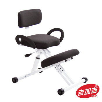 吉加吉 機能工學 跪姿椅 TW-457(黑色)