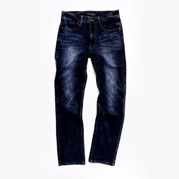 FATAN FATAN 石洗彈力窄直筒牛仔褲(L)