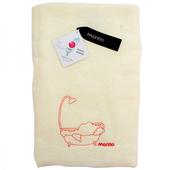 《MORINO》素色刺繡浴巾-隨機出貨(68x132cm / MO6806)