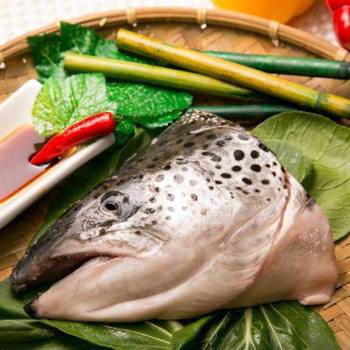 極鮮配 挪威鮭魚頭(500g±10%/包)