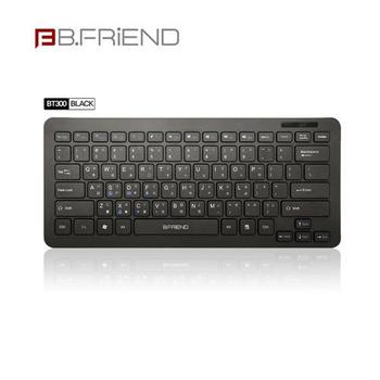 B.FRIEND BT300 無線藍芽鍵盤(黑色)