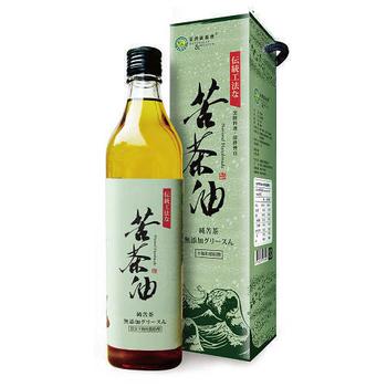 《台灣綠源寶》苦茶油1入(600ml/瓶)
