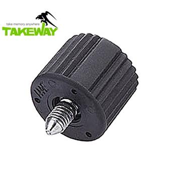 Takeway 台灣製造Takeway鉗式腳架T1雲台旋紐T-BK01旋鈕 T1鉗式腳架雲台旋鈕(T-BK01)