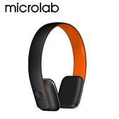 《Microlab》T2 藍芽4.0 無線高傳真多功能多媒體耳機 (內建通訊麥克風)(T2-OR橘)