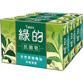 《GREEN綠的》抗菌皂 -天然茶樹精油-茶樹清香(100g*3入)