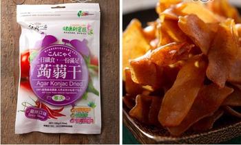 豐郁軒 台灣一番蒟蒻干-麻辣(100g/包)