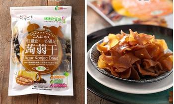 豐郁軒 台灣一番蒟蒻干-黑胡椒(100g/包)