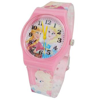 《迪士尼&漫威》熱門動漫卡通錶兒童錶 (多款可選)(冰雪奇緣-粉)-★買一送一★
