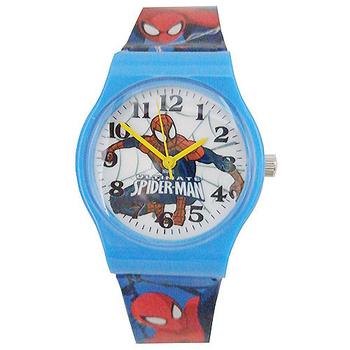 《迪士尼&漫威》熱門動漫卡通錶兒童錶 (多款可選)(Marvel蜘蛛人-藍)-★買一送一★