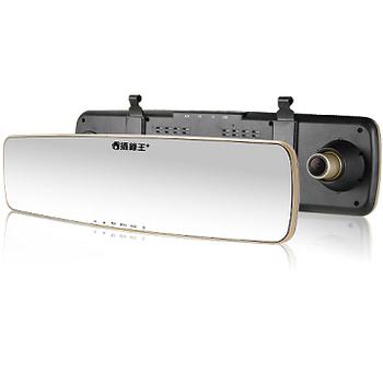 攝錄王 Z5++Plus 微曲面後視鏡 超大5吋螢幕 高畫質廣角行車記錄器 (送8G Class10記憶卡)