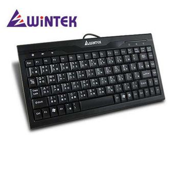 WiNTEK文鎧 WK590 迷你鍵盤 USB (黑色)